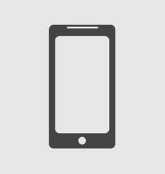 flat smartphone icon vector image