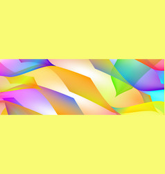 gradient abstract space multicolored background vector image