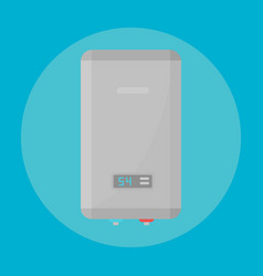 home water heating boiler industry indicator gas vector image