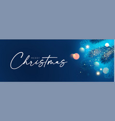 Merry christmas and happy new year holiday vector