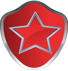 RED STAR AMBLEM 1 resize vector image