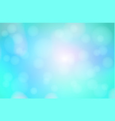 Turquoise blue purple abstract with bokeh lights vector