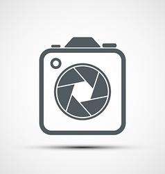 icon camera vector image