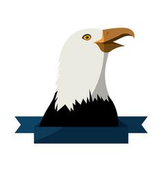 Eagle bird icon vector