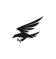 eagle symbol or sign on white vector image