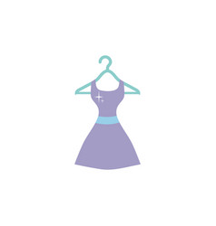 Isolated dress icon flat design vector