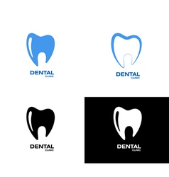 Tooth logo vector