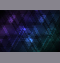Upside down abstract triangle overlap background vector