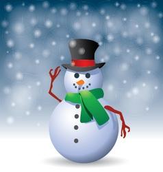 Snowman - vector