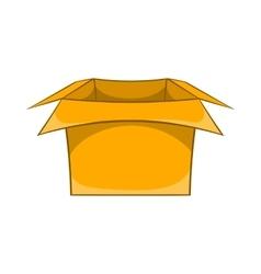Carton box icon cartoon style vector