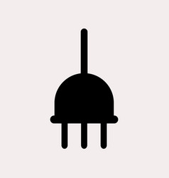 Current outlet icon vector