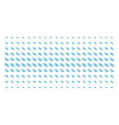 Galaxy shape halftone grid vector