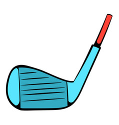Golf club icon icon cartoon vector