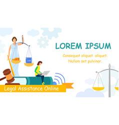 jurisprudence college web banner template vector image
