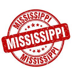 Mississippi stamp vector