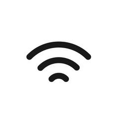 wifi icon graphic design template vector image