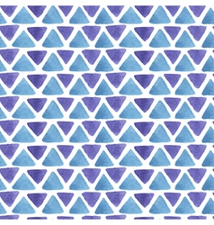 triangle watercolor pattern vector image
