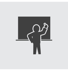 Teacher icon vector image