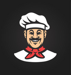 Chef icon vector