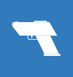 Icon electric gun vector