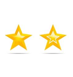 pair stars vector image