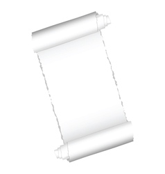 paper roll white color vector image