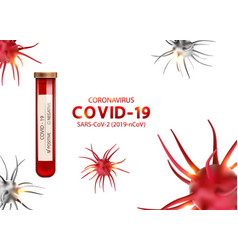 Positive results for covid-19 infection 2019-ncov vector