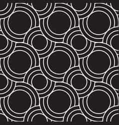 seamless wavy stripes pattern modern stylish vector image