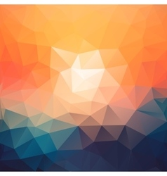 Triangle abstract texture background in vector