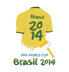 World Cup Brazil 2014 vector image
