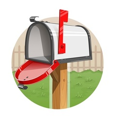 Mail box vector image
