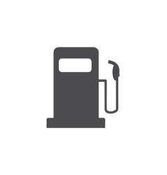 fuel icon for web business finance and vector image