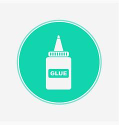 glue icon sign symbol vector image
