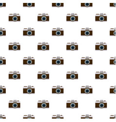 photo camera pattern vector image