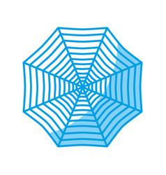spider web icon vector image