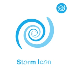 Storm spiral concept vector