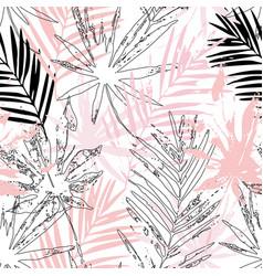 tropics paradise for summer fashion swimwear vector image