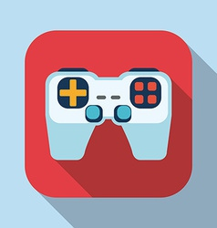 Videogames design vector image vector image