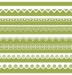 abstract seamless paper laces vector image vector image