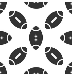 American football ball icon pattern vector