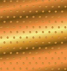 Abstract Golden Dotted Background vector image