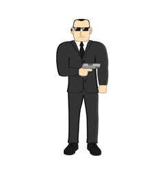 agent vector image