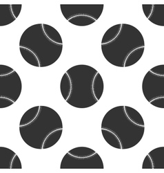 Baseball ball icon pattern vector image
