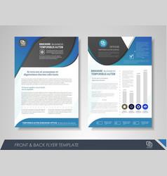 Business brochure template vector