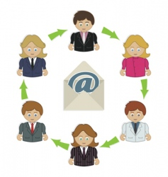 Business email vector