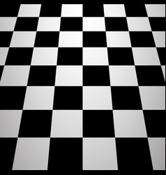 Chess board background vector