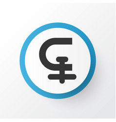 Chuck icon symbol premium quality isolated clamp vector