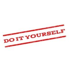 Do It Yourself Watermark Stamp vector