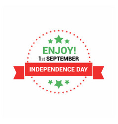 Libiya independence day design vector