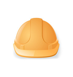 safety helmet isolated on white background vector image